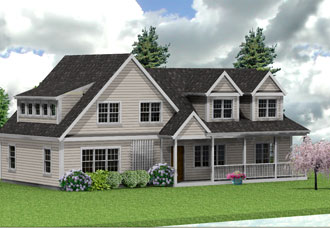 Duxbourough designs projects for Ranch second story addition plans